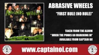 Watch Abrasive Wheels First Rule No Rule video