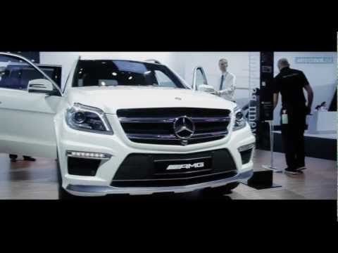 Обзор Mercedes-Benz GL 63 AMG