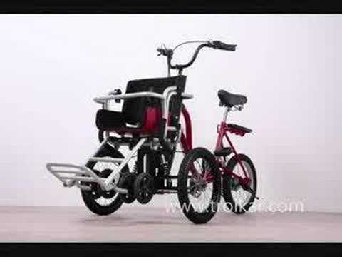 Multi-purpose Transformer Tricycle  TROIKAR