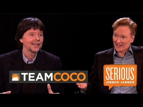 Documentarian Ken Burns— Serious Jibber-jabber With Conan O'brien video