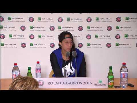 Madison Keys Roland Garros 2016 Interview