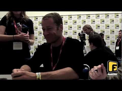Eureka - Comic-Con 2011 Round Table Interview with Colin Ferguson