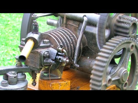 Stationärmotoren-Treffen Hundeluft 2013 1/2 Stationary Engine Rally