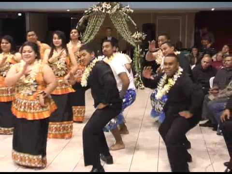 Fijian choir wedding