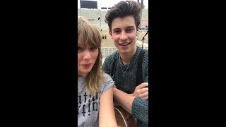 """Download Lagu Shawn Mendes and Taylor Swift sing """"There's Nothing Holdin' Me Back"""" Gratis STAFABAND"""