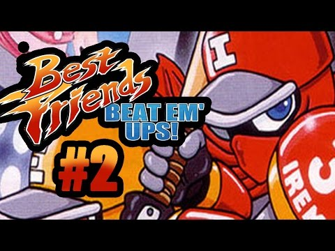 Best Friends Beat Em' Ups - Ninja Baseball Batman (2/2)