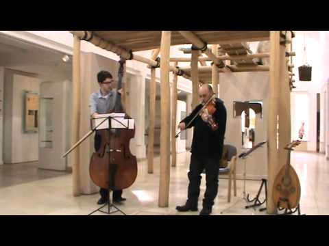 A Swedish Waltz for Viola d'Amore & Double Bass