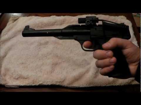 Browning Buckmark URX Air Pistol with Laser Sight