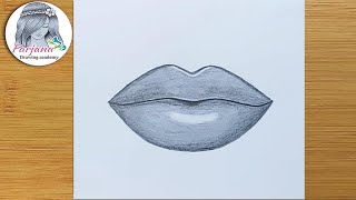 How to draw Lips for Beginners / Easy Way