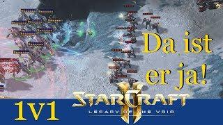 Da ist er ja! - Starcraft 2: Legacy of the Void 1v1 LIVE [Deutsch   German]
