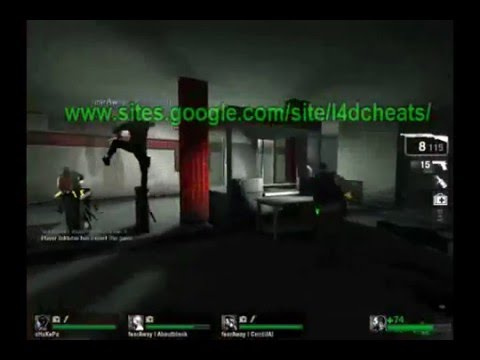 Left4dead Thirdperson Wallhack and Material hack