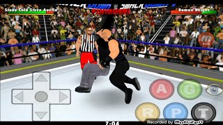 WR3D 2K19 Stone Cold Returns And Stunner Roman Reigns