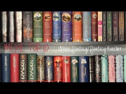 MEINE TOP 10...Urban-Fantasy/Fantasy-Bücher