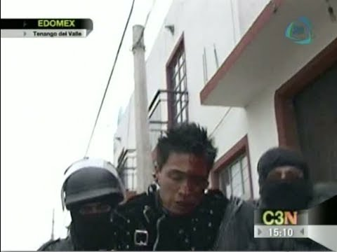Identifican a siete detenidos en Tenango del Valle
