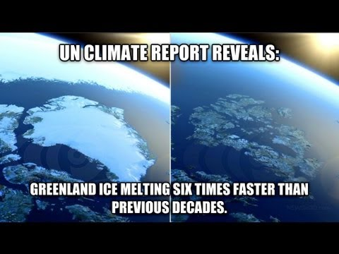 UN: Greenland ice melting six times faster than previous decades