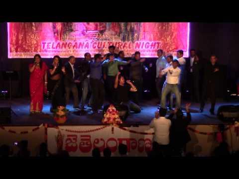Anuj, Nitya, Madhu sing Darlinge at Telangana Formation Day on June 14th 2015 by DATA