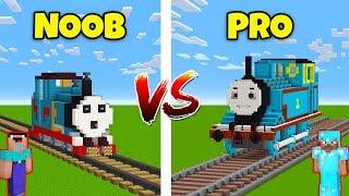 Minecraft NOOB vs. PRO: THOMAS THE TRAIN in Minecraft! AVM SHORTS Animation