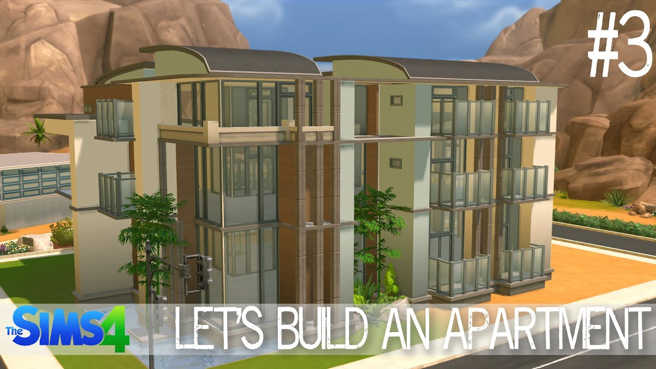 The sims 4 let 39 s build an apartment part 3 youtube House build