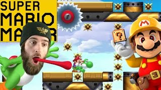 BRUTAL Yoshi Level With Only 1 Clear [SUPER MARIO MAKER]