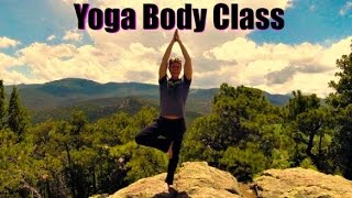25 Min Yoga Body Workout and Breath Class - Power Yoga Strength Workout in Colorado Mountains