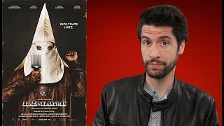 BlacKkKlansman - Movie Review