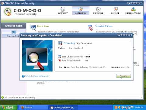 Comodo Internet Security 3.8 Detection and Removal Review