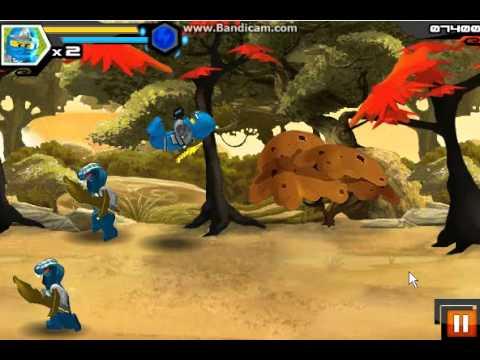 Games: Ninjago — Spinjitzu Snakedown (Part 1)
