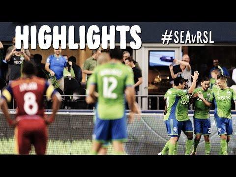 HIGHLIGHTS: Seattle Sounders v Real Salt Lake | Sept 12, 2014