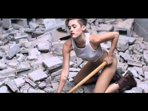 Miley Cyrus   Wrecking Ball Explicit Video