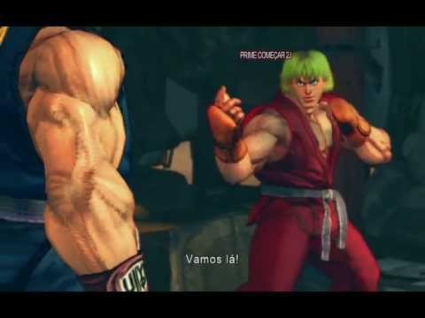 SSFIVAE - Ryu vs Ken Intro [ PC HD ]
