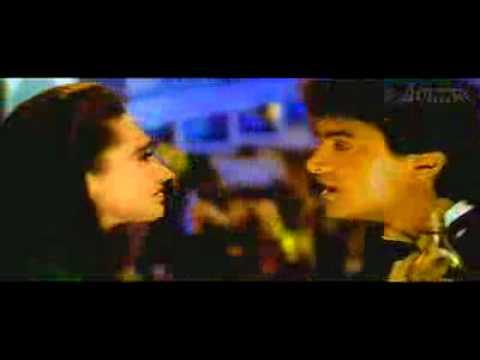 Kumar Sanu With Aamir Khan From raja Hindustani (1996) Song=tere-ishq-mein-nachenge video