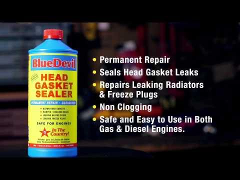 BlueDevil Head Gasket Sealer / Product Spotlight #1