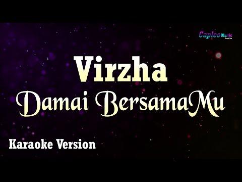 Download  Virzha - Damai BersamaMu Karaoke Version Gratis, download lagu terbaru