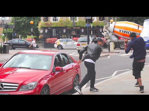 PARKING TICKET PRANK IN LONDON!