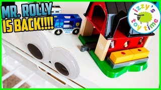 MR. ROLLY IS BACK! Thomas and Friends and BRIO Toy Trains for Kids
