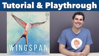 Wingspan Tutorial & Playthrough - JonGetsGames