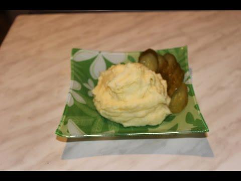 Очень ,очень вкусненькое картофельное пюре .