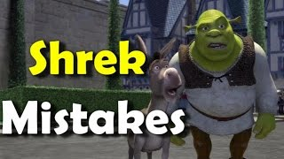 SHREK MOVIE MISTAKES, , Facts, Scenes and Fails