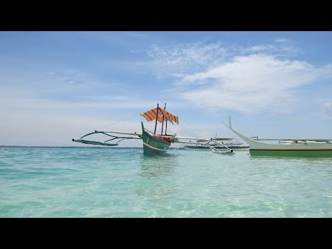 Beautiful Virgin Island Bantayan Cebu Philippines Pt.1