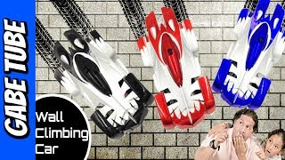 Top Toys WALL CLIMBER RC CAR RACE UP THE WALL!!! GRAVITY DEFYING DRIVE ON WALLS & CEILINGS Gabe Tube