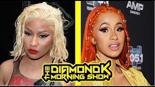 Nicki Minaj & Cardi B Lash Out Over Footages? | DIAMOND K SHOW