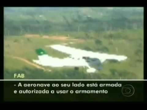 Caça da FAB intercepta avião boliviano em Rondônia