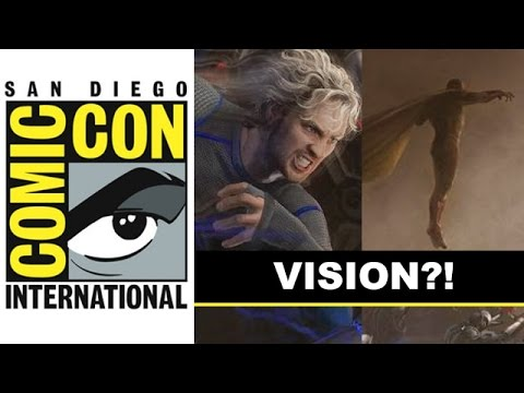 Comic Con 2014 - Vision joins Quicksilver, Hawkeye in Marvel Posters : Beyond The Trailer