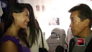 Interview with actor Peter Kwong at Asians On Film Mixer