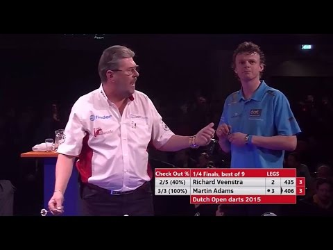 Martin Adams Does NOT Love The Darts - Will NOT Stand Up