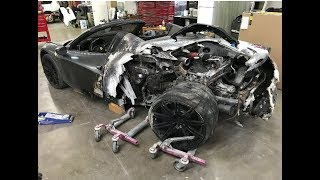 WHAT HAPPENED TO DONOR BURNT FERRARI 458..? REBUILDING A WRECKED FERRARI PROJECT.
