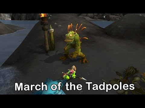 March of the Tadpoles Micro Holiday | World of Warcraft Legion Patch 7.2.5 Holiday Event