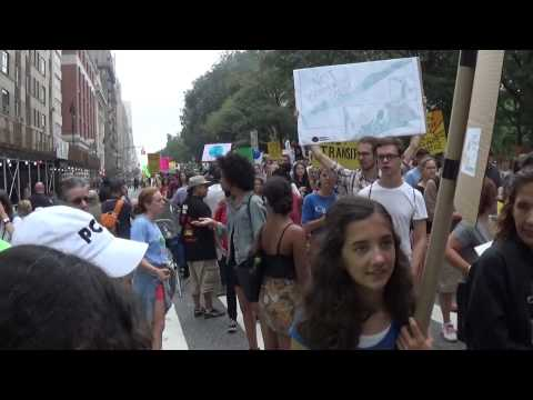 Climate Change March in New York Part VIII --- September 21, 2014