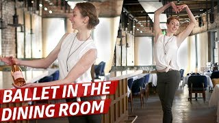How Fine Dining Waiters Learn to Move Across the Dining Room — How To Make It