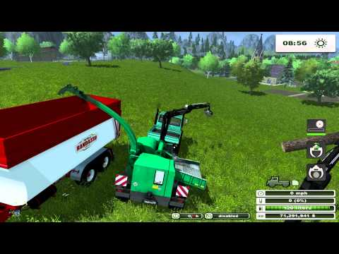 Farming Simulator 2013 MOD REVIEW Forest Mod 1 0 Beta by bm modding pt 2